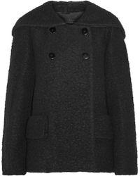 Jill Stuart - Diane Hooded Wool-Blend Coat - Lyst