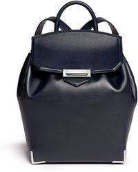 Alexander Wang 'Prisma' Leather Backpack - Lyst
