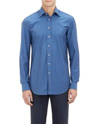 Etro End-on-end Dress Shirt - Lyst