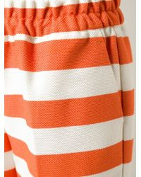 Isola Marras - Striped Culottes - Lyst