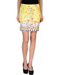 Piccione.piccione Mini Skirt - Lyst