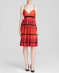 M Missoni Dress - Sleeveless Stripe Knit - Lyst