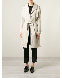 Avelon - Belted Trench Coat - Lyst