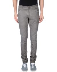 Tom Rebl Casual Trouser gray - Lyst