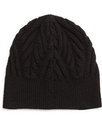 Theory - Textured Knit Beanie Cap - Lyst