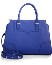 Rebecca Minkoff Amorous Leather Satchel - Lyst