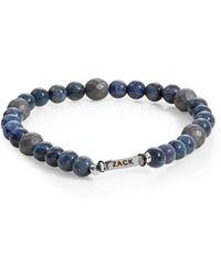 John Zack | Semi-precious Beaded Bracelet | Lyst