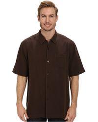 Tommy Bahama Catalina Twill Camp Shirt - Lyst