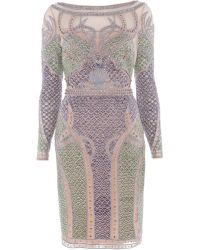 Temperley London Mermaid Sleeved Dress - Lyst