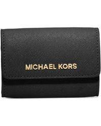 Michael Kors Jet Set Travel Saffiano Leather Coin Purse - Lyst