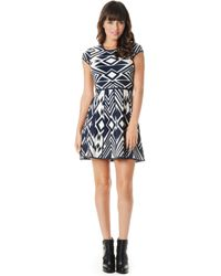 Parker Meena Knit Dress - Lyst