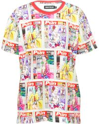 House Of Holland Page 3 Tee - Lyst