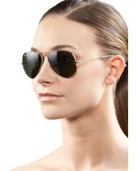 Ray-Ban Classic Aviator Sunglasses - Lyst