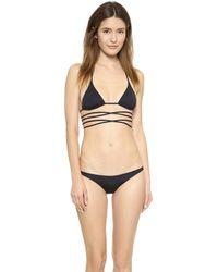 Melissa Odabash Acapulco Bikini - Black - Lyst