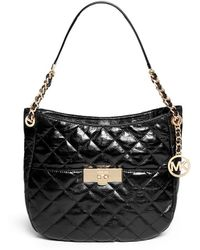 MICHAEL Michael Kors 'Susannah' Medium Quilted Leather Tote - Lyst