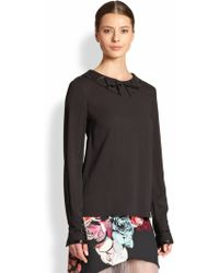Honor Beadedaccent Blouse - Lyst