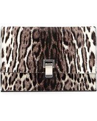 Proenza Schouler Small Lunch Cheetah-print Calf Hair Clutch Bag - Lyst
