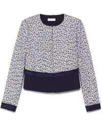 Tory Burch Blue Lucille Jacket - Lyst