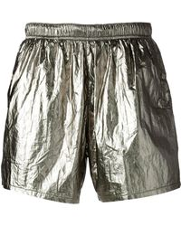 Our Legacy - Metallic Swim Shorts - Lyst