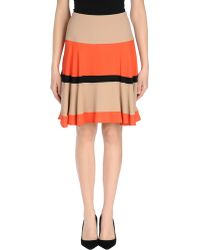 Patrizia Pepe Knee Length Skirt - Lyst