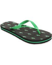 Polo Ralph Lauren Black Hewie Flip-Flops black - Lyst