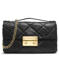 Michael by Michael Kors Small Sloan Quilted Messenger - Lyst