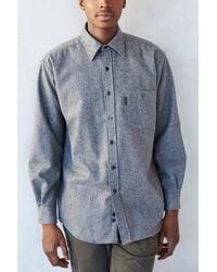 Pendleton Flannel Elbow Patch Button-down Shirt - Lyst
