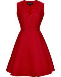 Giambattista Valli Wool and Silkblend Aline Dress - Lyst