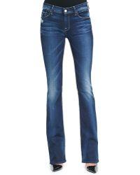 7 For All Mankind Skinny Bootcut Monarq Jeans Monarq Blue 30 - Lyst