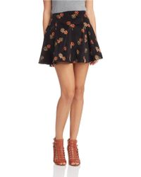 Free People Good Day Sunshine Skirt - Lyst