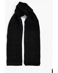 S.N.S Herning | Navy Chunky Wool Scarf | Lyst