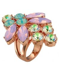 Mawi Crystal Firefly Ring - Lyst