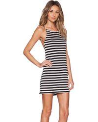 Osklen Stripe Mini Dress - Lyst