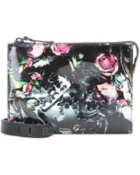 McQ by Alexander McQueen Printed Patent-leather Shoulder Bag - Lyst
