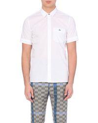 Vivienne Westwood Slim-Fit Stretch-Cotton Shirt - For Men - Lyst