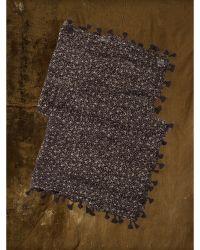 Denim & Supply Ralph Lauren Tassel-Fringed Floral Scarf - Lyst