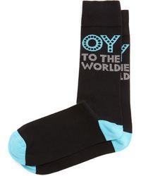 Jonathan Adler - Oy To The World Printed Socks - Lyst