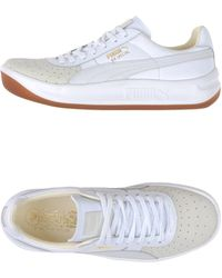 PUMA Low-Tops & Trainers beige - Lyst