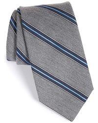 John W. Nordstrom - 'terrano' Stripe Wool & Silk Tie - Lyst