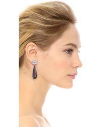 Jarin K - Elongated Teardrop Earrings - Lyst