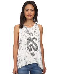 Obey Winged Serpent gray - Lyst