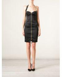 Moschino Bustier Halter Dress - Lyst