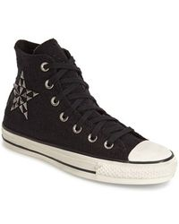 Converse Chuck Taylor All Star 'Star Hardware' High Top Sneaker black - Lyst