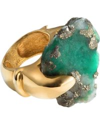 Nregnier Jaguar Tribute Emerald Ring - Lyst