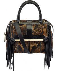 Azzaro | Palais Royal Fringe Leather Handbag | Lyst