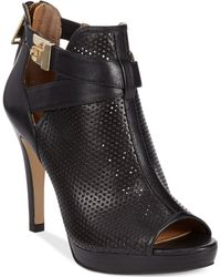 Tommy Hilfiger Graciely Platform Booties - Lyst