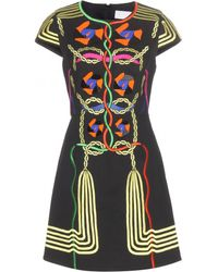 Peter Pilotto Embellished Cotton Dress - Lyst