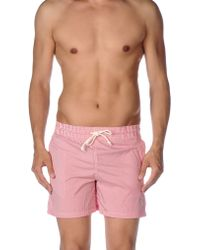 Maison Kitsuné - Swimming Trunks - Lyst