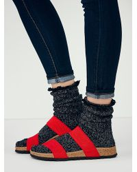Free People Red Curacao Birkis - Lyst