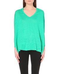American Vintage Leland V-Neck Top - For Women - Lyst